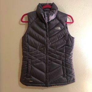 Purple North Face vest
